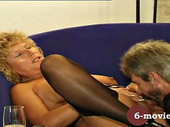 6-movies.com - mature couple bubbles and hairy pussy licking
