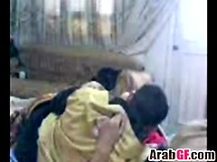 Arab Amateur Couple Missionary Bedroom Homemade