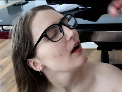 Victoria Hurley Sucking Two Cocks