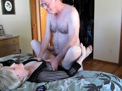 Sultry mature blonde wife gets banged the way she likes it