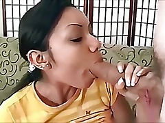 Indian Girl - First time with a huge cock