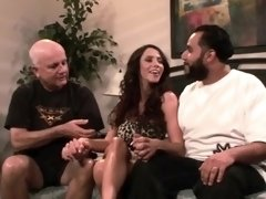 Ariella lets a guy fuck her in front of her husband