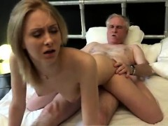 Lexi gets fucked by old nick Alice is horny, but Daniel want