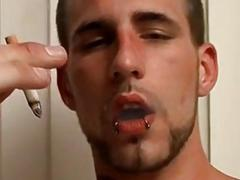 Straight buddies turning gay quickly while smoking ciggs