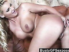 Slutty Phoenix Marie bouncing hardcore on a cock