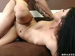 Sadie West face fucked blowjob