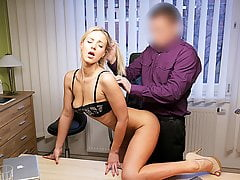 LOAN4K. Hot chick Nathaly fucked hard in order to pay for...
