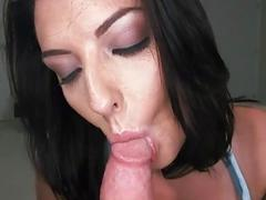 Titillating doggy position fucking