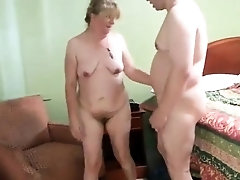 Kinky amateur granny enjoying hardcore sex with her lover