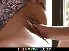 A guy is invited to bang old man wife