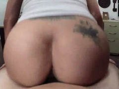 Busty Latina babe getting fucked at the pawn shop