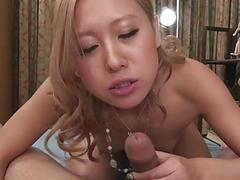 Slutty Japanese chick Airi Tachibana spreads legs