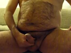 Amateur dude strokes his cock on his webcam stream