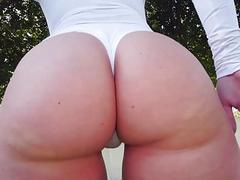Fat Ass Harley Jade Rides Huge Cock