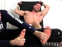 Porn tube gay fetish foot xxx Casey More Jerked & Tickled