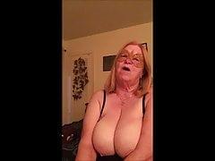 GRANNY WANTS AN EARFUL of cum