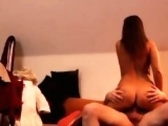 Milf gives perfect blowjob Latoya makes clothes, but she lik