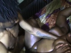 chocolate bbw fucked n sucked on by bbc