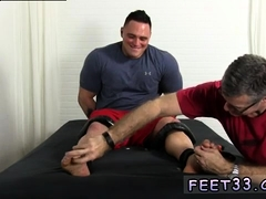 Gay twink getting his polished toes sucked Karl's whole figu