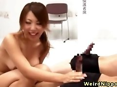 Hairy young nippon join fucking contest