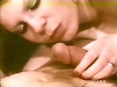 College Girl From 60s Fondles Pink Swollen Dick Of Horny Daddy