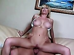 Fit bikini slut Holly Sampson fucked by a thick dick