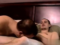 Gay deep throat sucking movietures Servicing A Big Straight