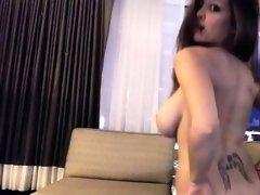 Sexy Busty Girl Tessa Fowler webcam show 4