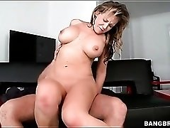 Cocksucking Nikki Sexx sits on his shaft