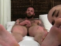 Foot eating gay movie Derek Parker's Socks and Feet Worshipe