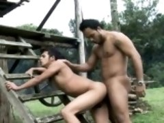 Sizzling Hot Latino Gay Bareback Fucking