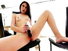 FTV Ashley Hot Brunette Freckles MILF Masturbation