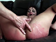 Brit bigtitted sub humiliated by maledom