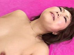thick japanese yuko morita is fucked hard and creampied by two boys