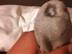 cum in socks