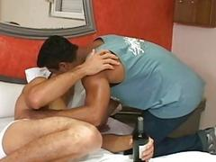 Two Gay Latino Having Bareback Sex