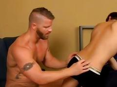Gay twinks Ryker Madison unknowingly brings loan shark Jeremy Stevens