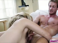 Hot College sluts gets Summer grill Orgy