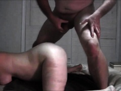 Stacked brunette milf gets pounded doggystyle by her lover