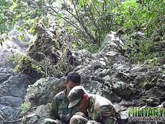 army boys scout for hard meat outdoors movie