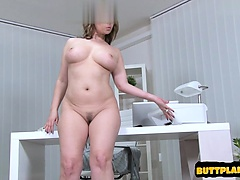 Horny student homemade facial