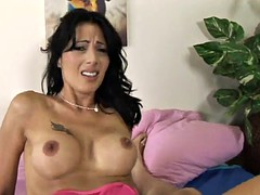 a messy facial for the horny mom zoey holloway after a hard fuck