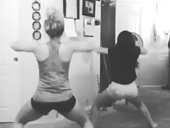 Me and my friend Mina twerking