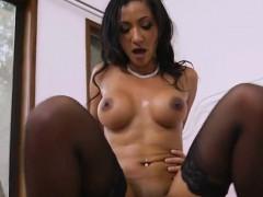 Foxy Latina Sadie Santana Straddles Her Neighbor