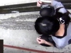 Fetish asians gush piss