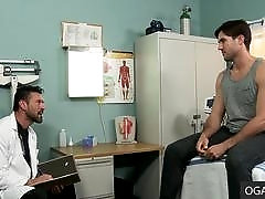 Routine Examination Turns into Hot Gay Romp