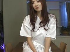 Kaori Maeda receives toys in both her creamy holes