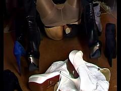 cum on high heels mixture 91