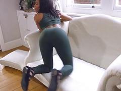 Ebony Kiki Minaj big butt fucked