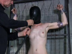 Head bonded skank getting punished